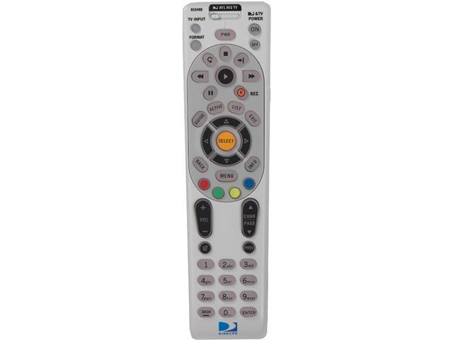 DIRECTV RC65 Universal Infrared Remote 4 Function Compatible with All DIRECTV Receivers