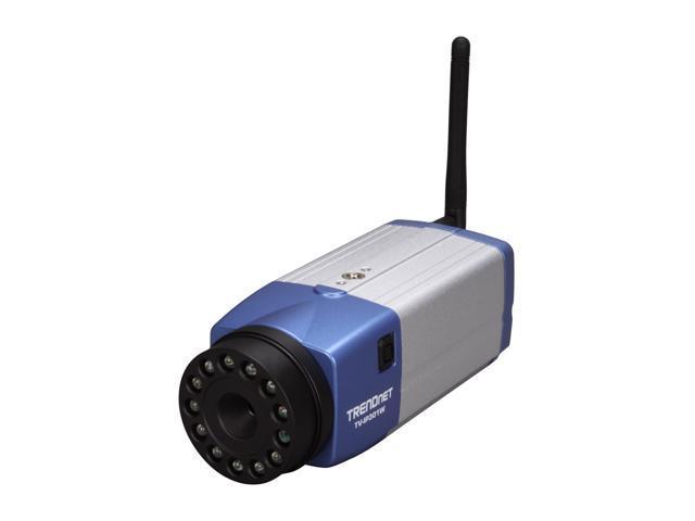 TRENDnet TV-IP301W Advanced Day/Night Wireless Internet Camera Server with Audio