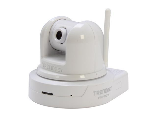 TRENDnet RB-TV-IP410W 640 x 480 MAX Resolution RJ45 SecurView Wireless Pan/Tilt/Zoom Internet Camera