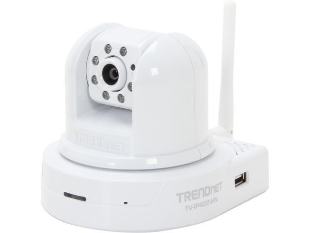 TRENDnet RB-TV-IP422WN 640 x 480 MAX Resolution RJ45 SecurView Wireless N Day/Night Pan/Tilt/Zoom Internet Camera