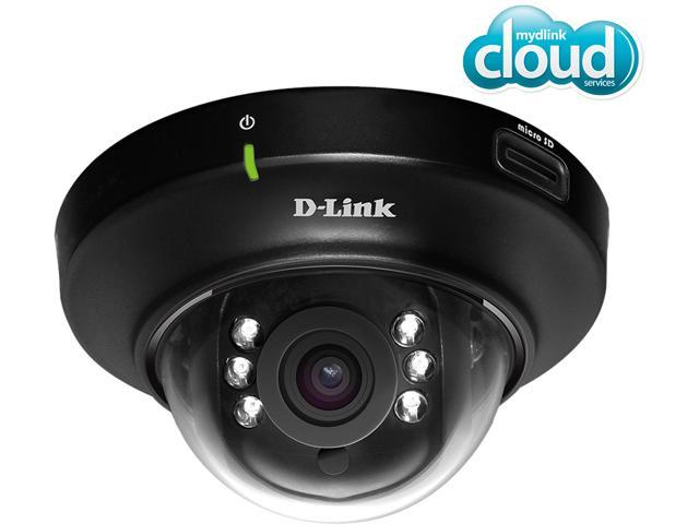 D-Link DCS-6004L HD PoE Mini Indoor Dome Network Camera