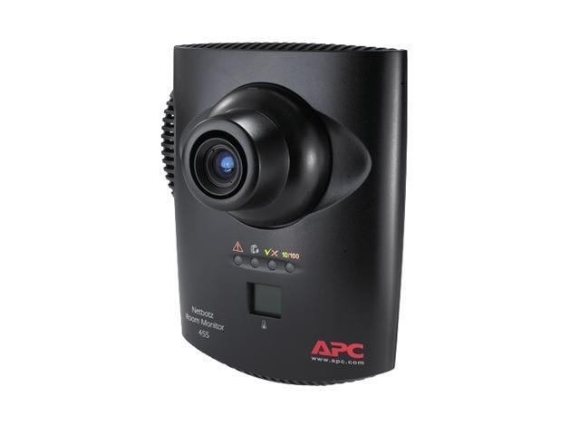 APC NBWL0455 RJ45 NetBotz Room Monitor 455 (without PoE Injector)
