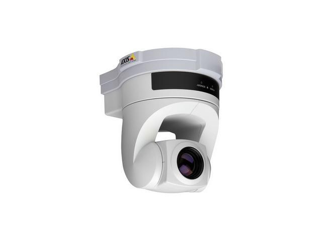 Axis Communications AXIS 214 PTZ, 18x Optical Zoom, Day/Night, 2-Way Audio IP Camera