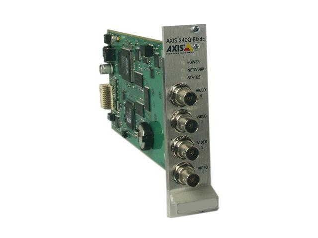 AXIS 0232-024  240Q Video Server Blade