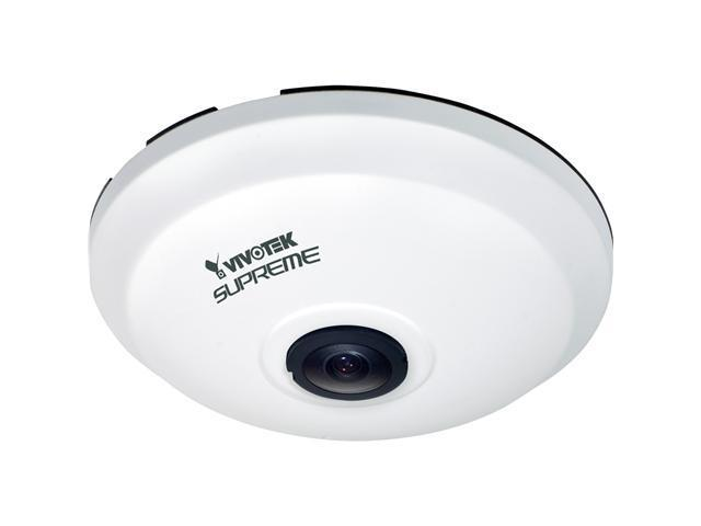Vivotek FE8172 HD 5MP, Fisheye Lens w/ IR Cut Filter, WDR, PoE, ePTZ IP Camera