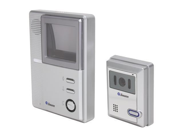 Swann SW244-BVD DIY B&W Video Doorphone - High Resolution Intercom