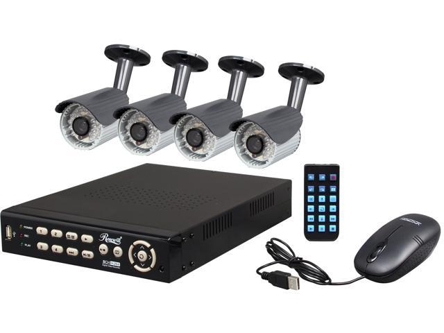 Rosewill RSVA-12001 8 Channel Surveillance DVR Kit