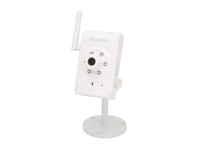 Asante Voyager SmartBot (99-00848) 1280 x 1024 MAX Resolution RJ45 720p Smart 1.3Megapixel CMOS Day & Night IP Camera