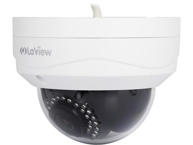 LaView LV-PWD50402-W Wifi 4MP 1520P HD Camera Indoor / Outdoor Day / Night, Built in MicroSD slot, Stand Alone Ready, IP67 Weather Proof