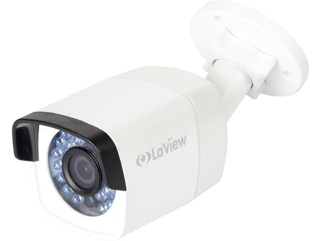 LaView LV-PB3040W PoE 4MP 1520P HD Camera Indoor / Outdoor Day / Night, Built in MicroSD slot, Stand Alone Ready, IP66 Weather Proof