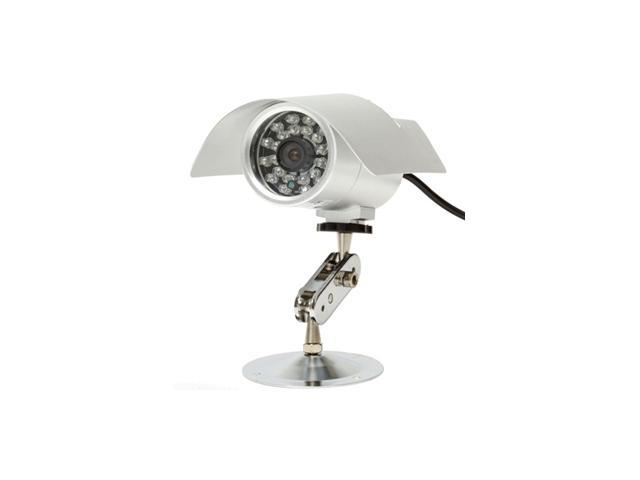 Q-See QS2814C CCD Color Outdoor Camera w/ Infra Red Light for Night Vision
