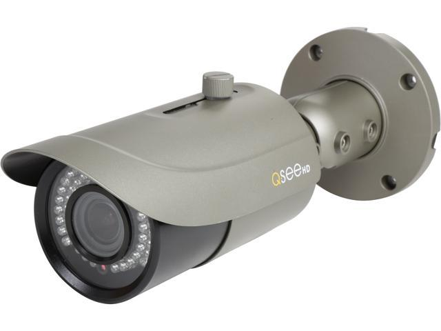 Q-See Professional 4MP PoE IP Varifocal Lens Security Camera with 165 Ft. of Night Vision (QTN8044D)