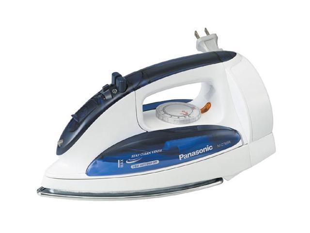 Panasonic NI-C76SR Steam Iron with Curved Stainless Steel Soleplate for Smooth Ironing