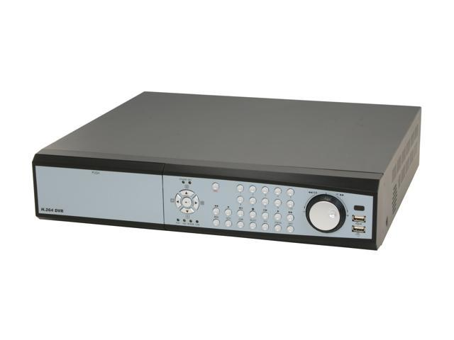Aposonic A-S1601R4 16 Channel H.264 Pentaplex WITH DVD-RW 2 SATA HDD Slot Standalone DVR and iPhone/Mobile Phone Live View