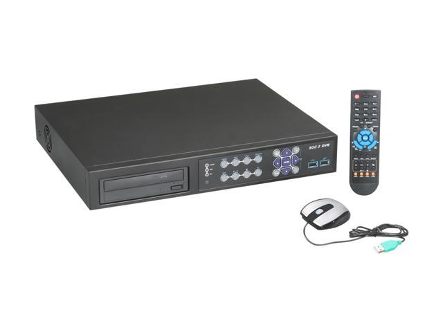 Aposonic A-S1604R26-1TB 16 x BNC 1TB HDD Multiplex Sixfold Operational Standalone DVR, Mac OS X App fully supported
