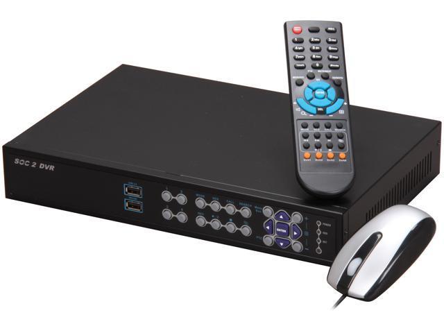Aposonic A-S0402R17-500 4 x BNC 500GB HDD H.264 Video Compression Multi-functional DVR