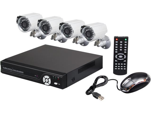 Aposonic A-BRHB4-C 8 Channel H.264 Level Surveillance DVR Kit