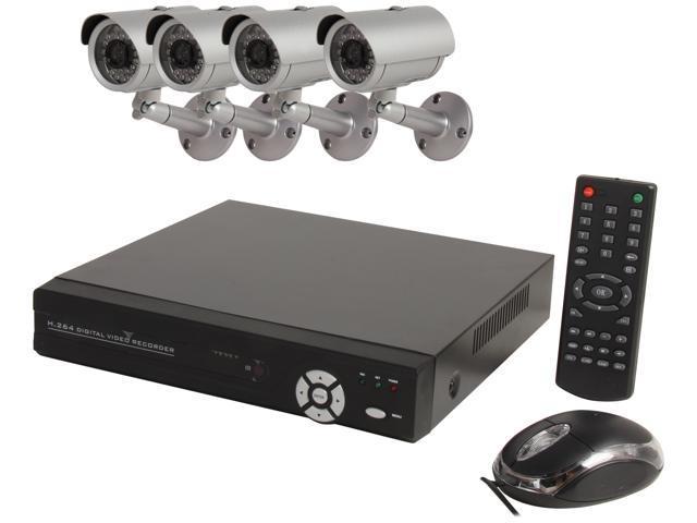 Aposonic A-BRHB4-H 8 Channel Surveillance DVR Kit