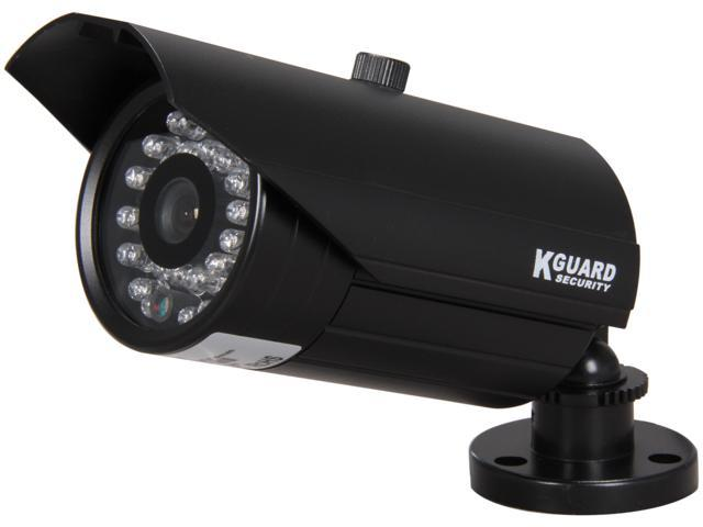 Kguard Anti-Cut Vandal Proof Camera, 540 TVL, 30 IR LED, 65ft IR Distance, 3.6mm Lens