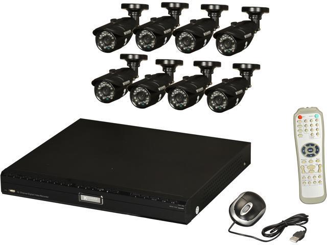 KGuard KG-BR1601-8CW214H-1TB 16 Channel Surveillance DVR Kit