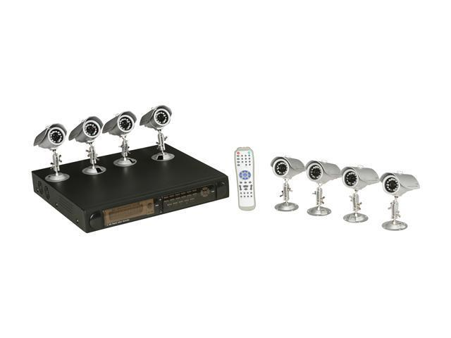LTS LTD816D8K 16-Channel H.264 Real Time Record DVR 8-Camera System Kit with 500GB and iPhone/Mobile Phone Live View