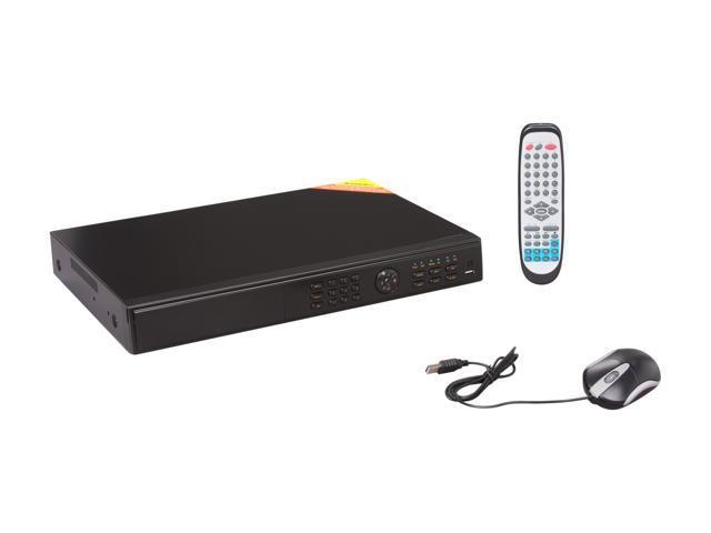 LTS LTD2308ME 8 x BNC 2 SATA HD or 1 SATA HD+1 DVDRW (HD and DVDRW not included) 8 Channel Network DVR