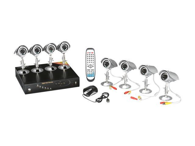 LTS 16-Channel 500GB H.264 Real Time DVR 8-Camera System Kit with iPhone / Android and IE / Apple Safari Remote Access (LTD9268DK)
