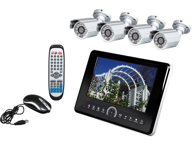 "LTS LTD7084DK6 8 Channel 10"" Tablet DVR w/ 4 Cameras"