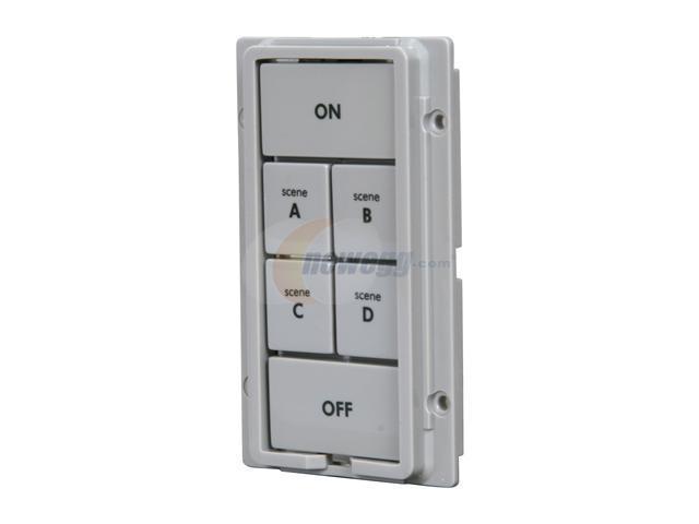 SmartLabs 2401GY6 6-Button Change Kit for KeypadLinc, Gray