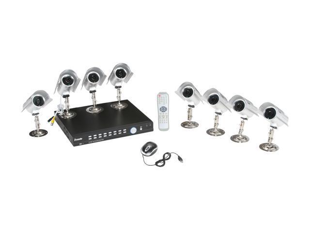 Zmodo DVR-DK1690-1TB 16 CH DVR + 8 IR Camera with 1TB HD