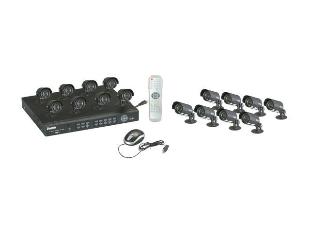 Zmodo PKD-DK1665-1TB 16 Channel H.264 DVR + 16 CMOS 420TVL Day/Night Outdoor Camera Surveillance System w/ 1TB HDD