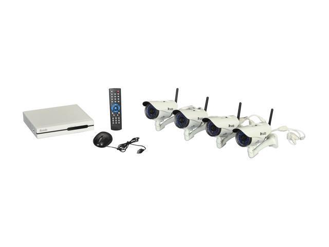 Zmodo KNS4-IASFZ4ZN-1TB 4 Channel Surveillance DVR Kit