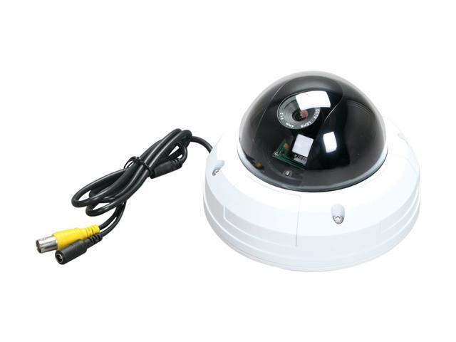 Vonnic C510W 480 TV Lines MAX Resolution Outdoor Day/Night Dome Camera - Silver