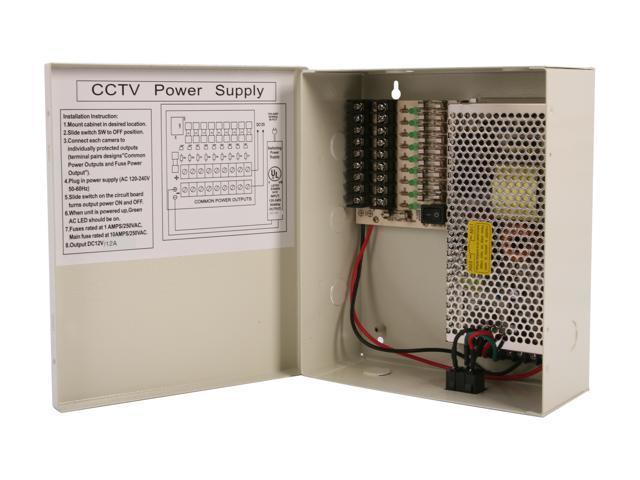 Vonnic VPB120912U UL Listed Power Distribution Box