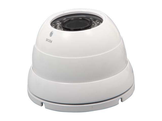 Vonnic VCD546W Super HAD CCD II Effio-E DSP Weather Proof High Resolution Dome Camera - White