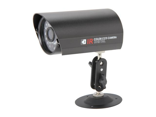 Vonnic VCB220B 480 TV Lines MAX Resolution Outdoor Night Vision Bullet Camera - Black