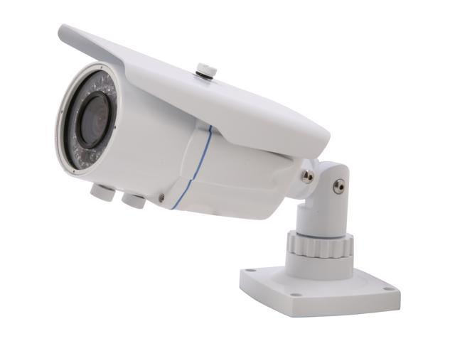 Vonnic VCB250W 540 TV Lines MAX Resolution Outdoor Night Vision Bullet Camera - White