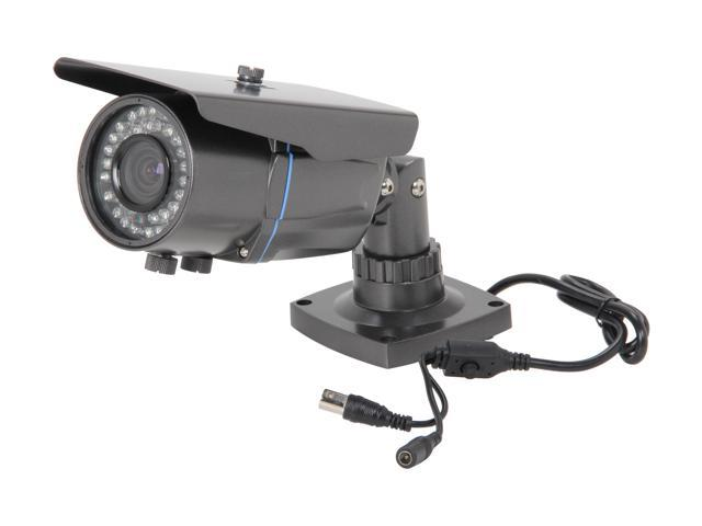 Vonnic VCB251EG 600 TV Lines MAX Resolution Super HAD CCD II Effio-E DSP Outdoor Night Vision Bullet Camera - Dark Grey