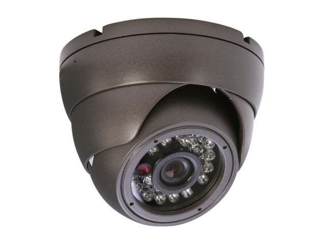 Vonnic VCD504B 480 TV Lines MAX Resolution Outdoor Night Vision Dome Camera