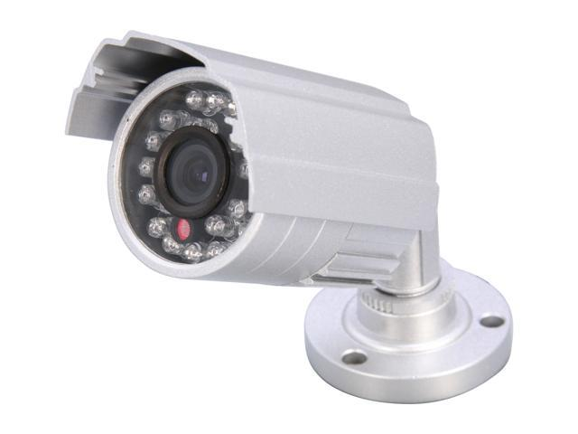 Vonnic VCB101S 480 TV Lines MAX Resolution Outdoor Night Vision Bullet Camera - Silver