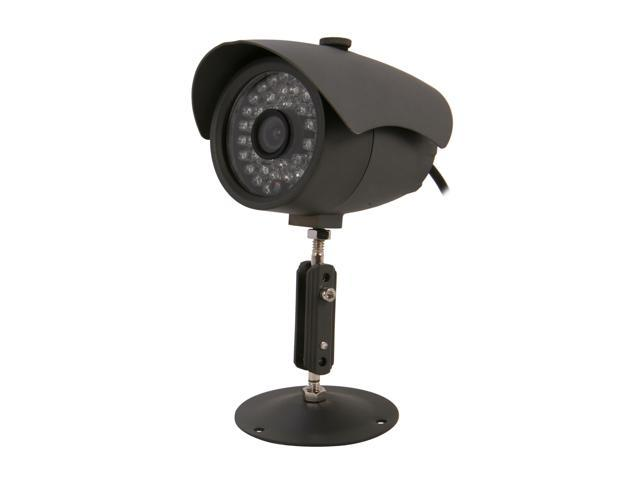 Vonnic VCB102G 480 TV Lines MAX Resolution Outdoor Night Vision Bullet Camera - Black