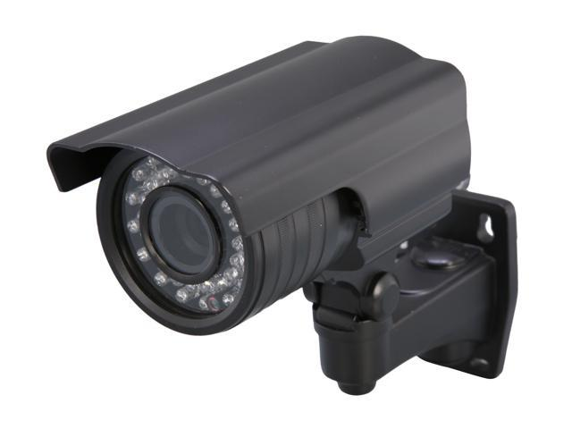 Vonnic VCB104B 480 TV Lines MAX Resolution Outdoor Night Vision Bullet Camera - Black