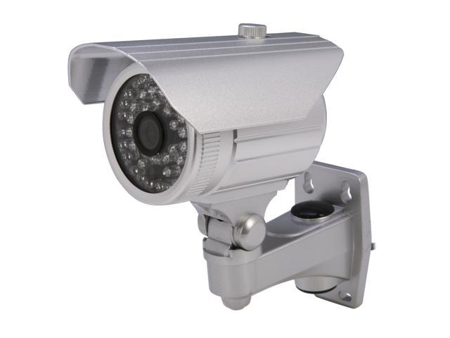 Vonnic VCB231S 680 TV Lines MAX Resolution Outdoor Night Vision Bullet Camera - Silver