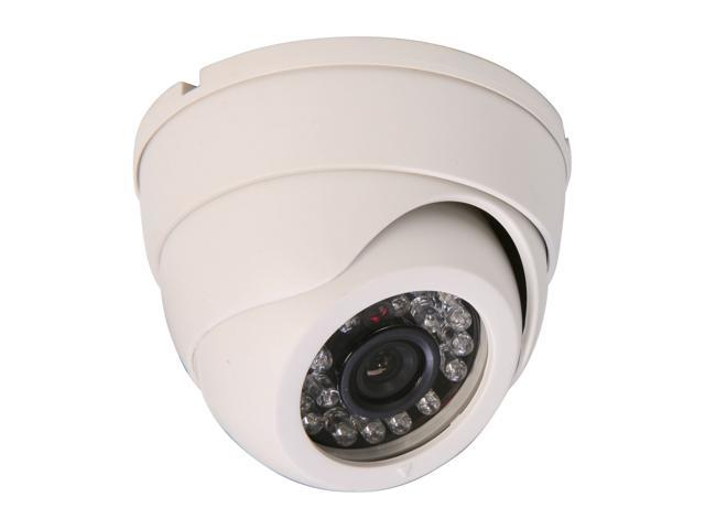 Vonnic VCD502W 480 TV Lines MAX Resolution Indoor Night Vision Dome Camera