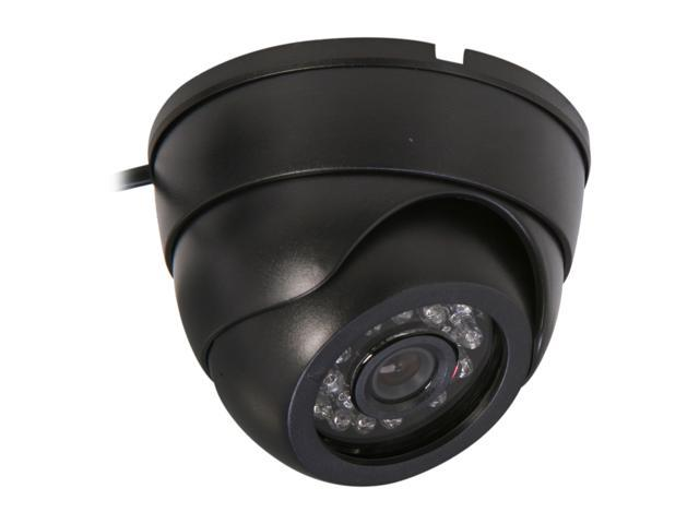 Vonnic VCD502B 480 TV Lines MAX Resolution Indoor Night Vision Dome Camera