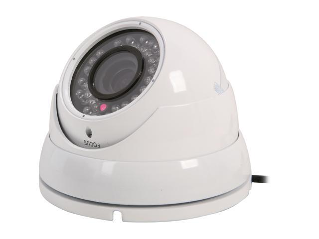 Vonnic VCD505W 540 TV Lines MAX Resolution Outdoor Night Vision Dome Camera