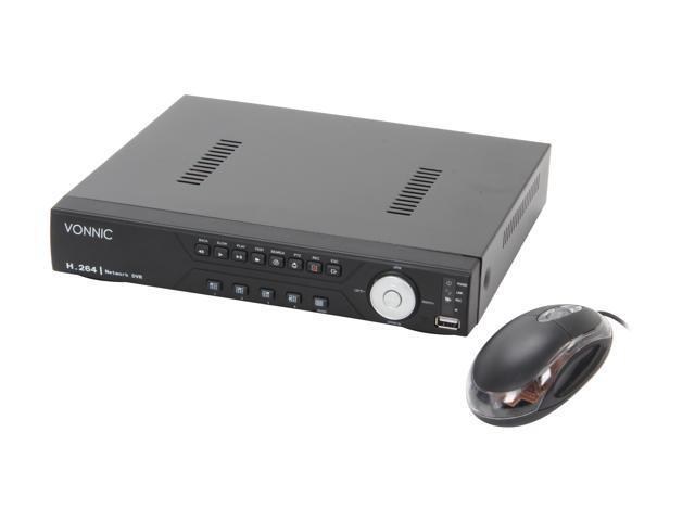Vonnic DVR-C1108SE 8 Channel (2CH x Full D1 +CIF)  H.264 DVR, Real Time Display/ Record, Web/3G/4G Mobile Access  (HDD Sold Separately)