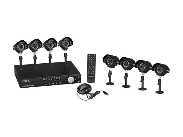 Vonnic DK16-C11608CM 16 Channel H.264 DVR + 8 CMOS Night Vision LED Cameras Surveillance Kit (HDD Sold Separately)