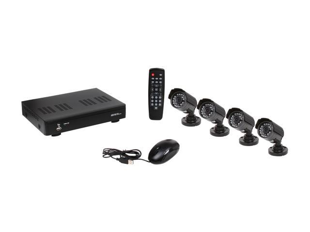 Vonnic DK4-K4404CCD 4 Channel DVR with 4 CCD Cameras