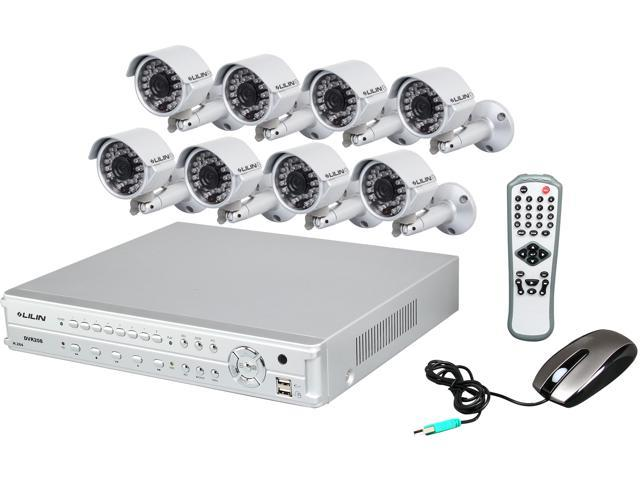 Lilin LHS-DVR208-8KIT 8 Channel Surveillance DVR